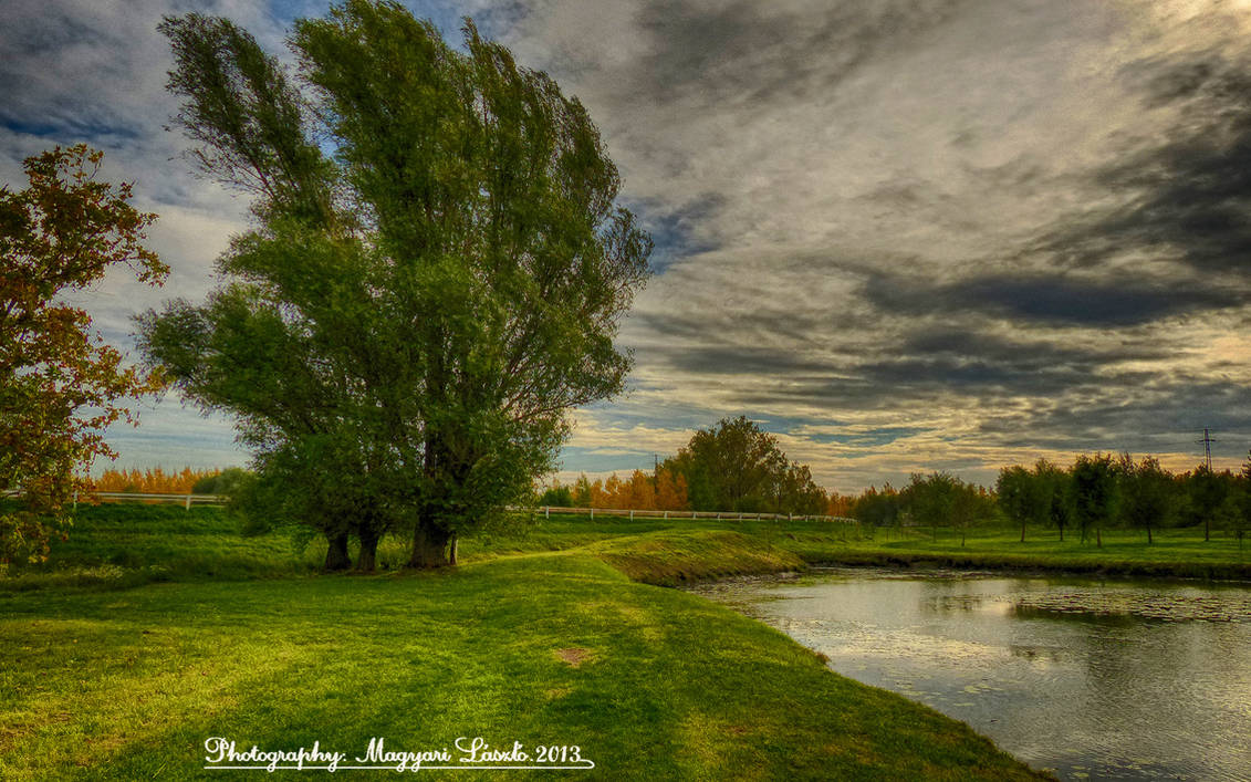 Hungarian landscapes. HDR-picture