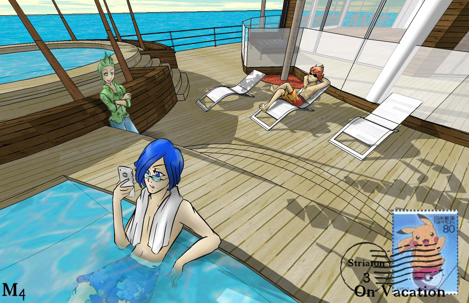 Striaton 3 on Vacation by Marini4