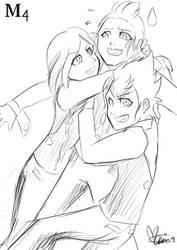 Sketch - Huggies by Marini4