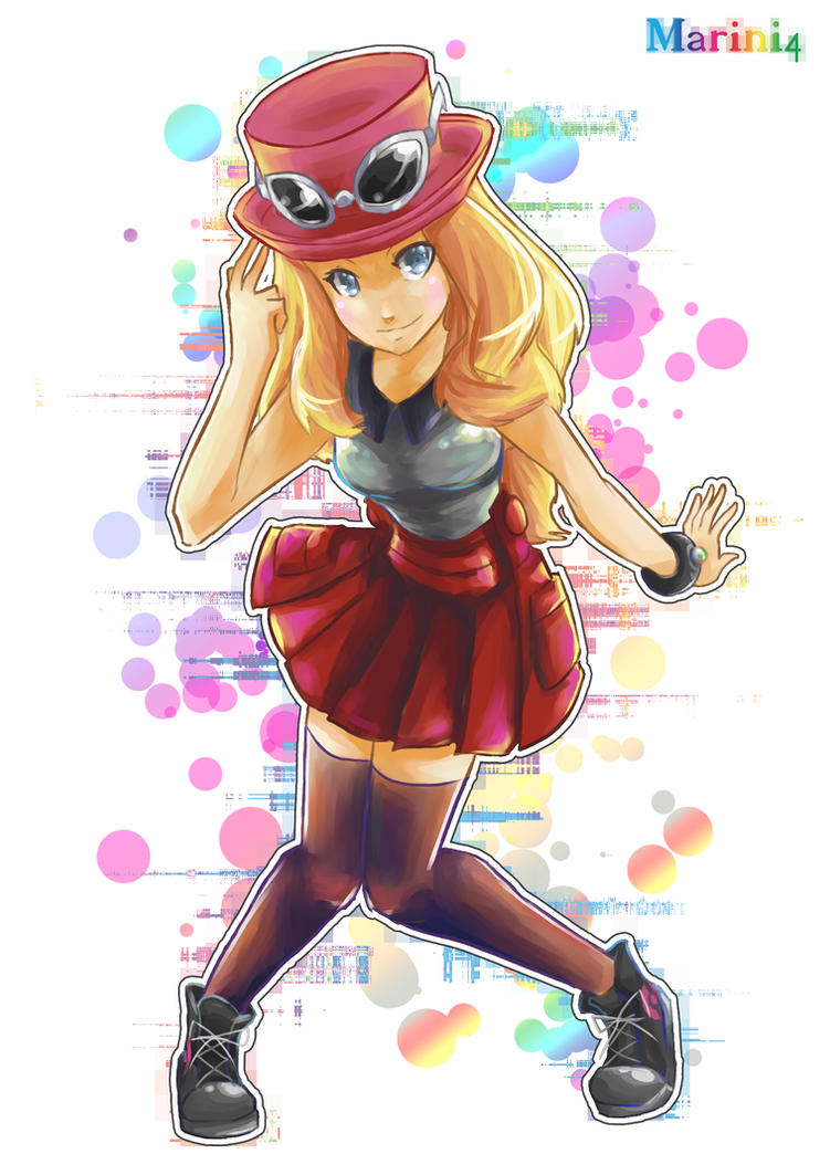 Pokemon XY Serena by Marini4