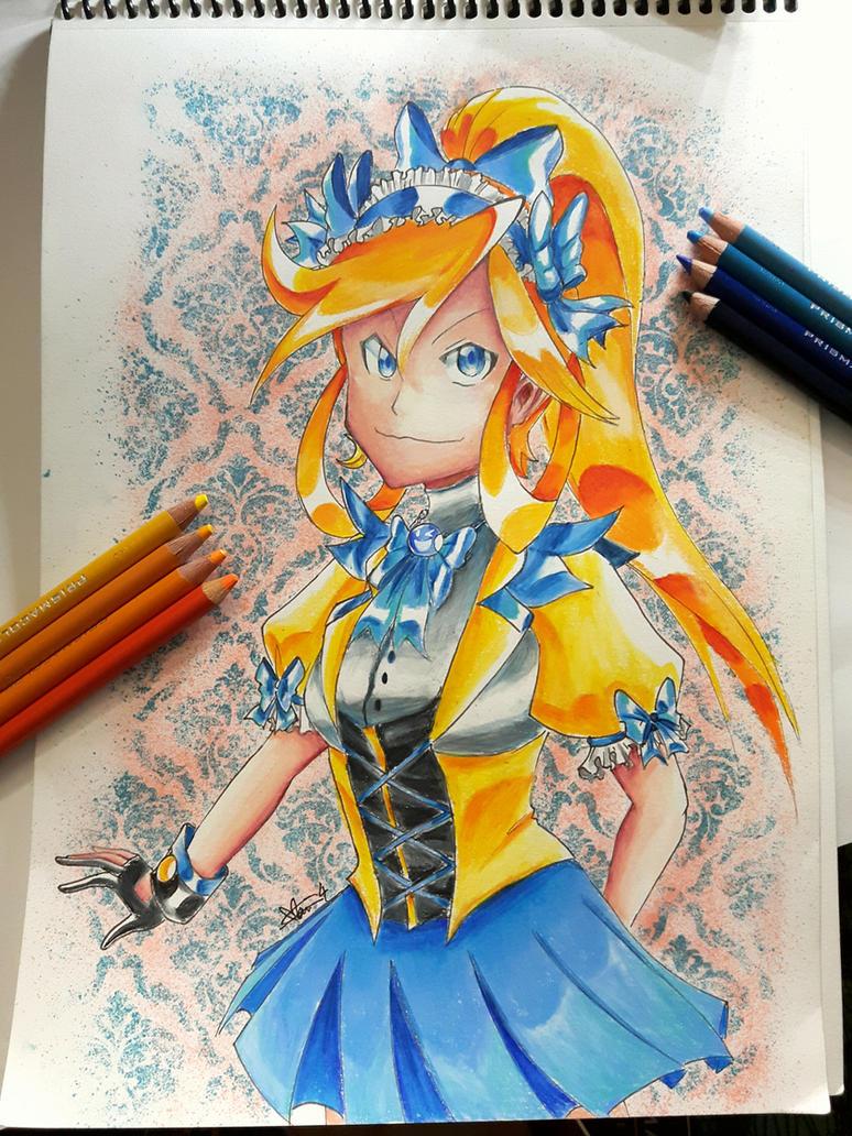 Traditional 29 - Maid Athena by Marini4