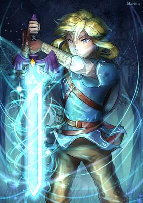 Legend Of Zelda BOTW - The Master and The Sword