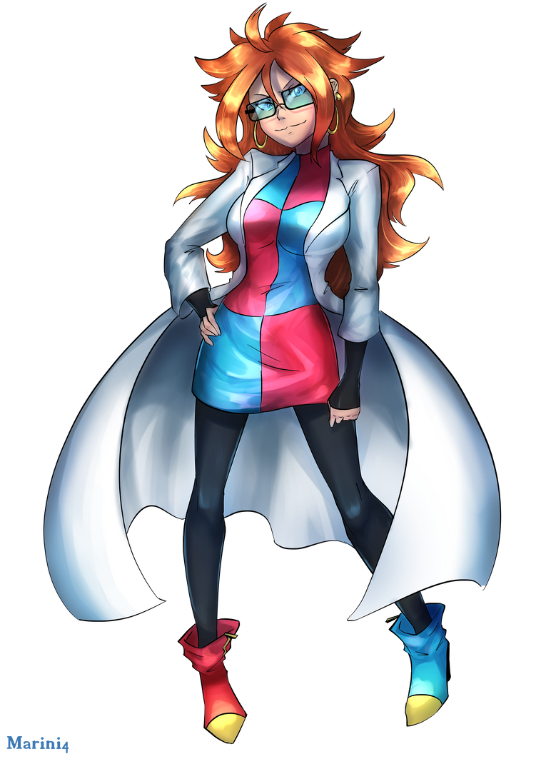 Dragon ball fighter z android 21 normal by marini4 on - Dragon ball z 21 ...