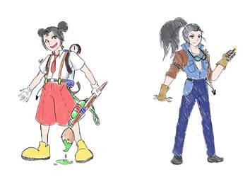 BBTIM - Mickey and Oswald Concept by Marini4