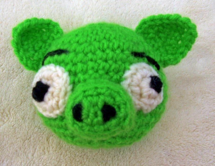 Amigurumi Green Pig : Green Pig by fyre-fly on deviantART
