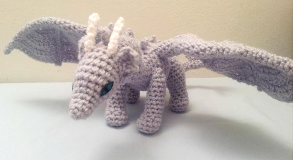 Dragon Amigurumi Eyes : Crochet Amigurumi Dragon by fyre-fly on deviantART