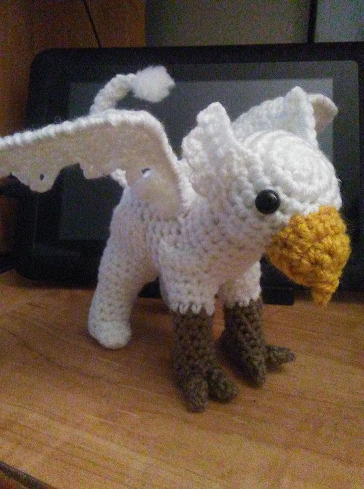 Hippogriff Crochet Pattern (With images) | Harry potter crochet ... | 960x714