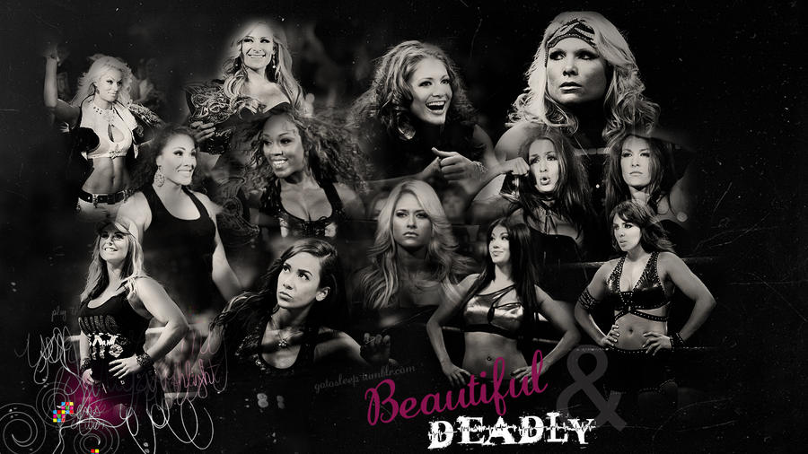 WWE Diva Wallpaper by Tiff-toff