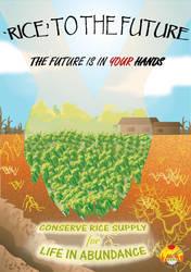 Rice To The Future by choyuki