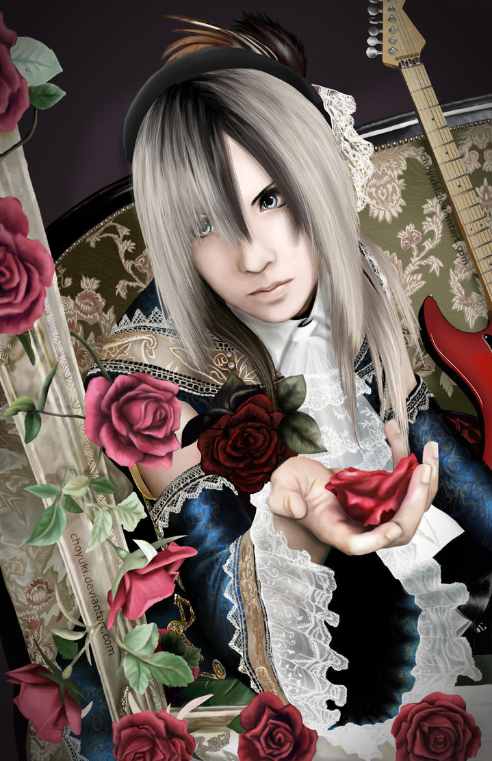 Teru -Guitarist of Versailles- by choyuki