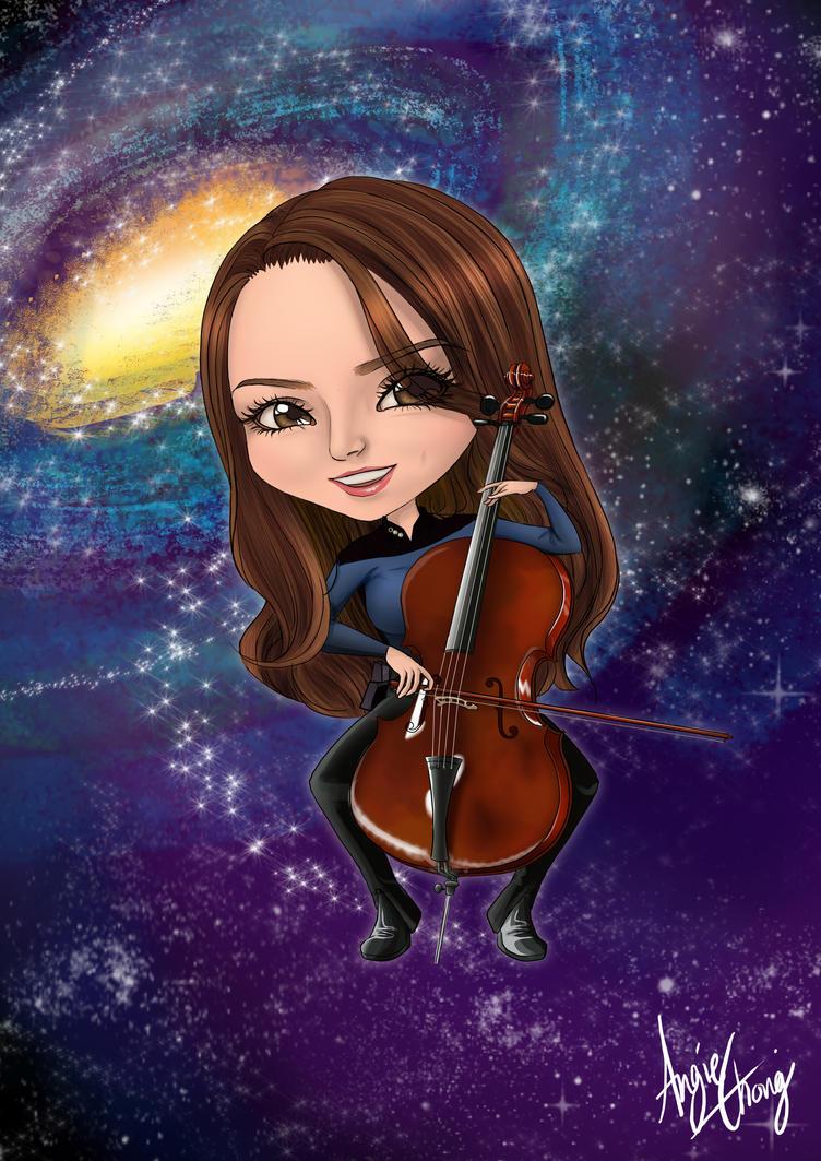 Katrina-Star Trek inspired Chibi Commission by choyuki