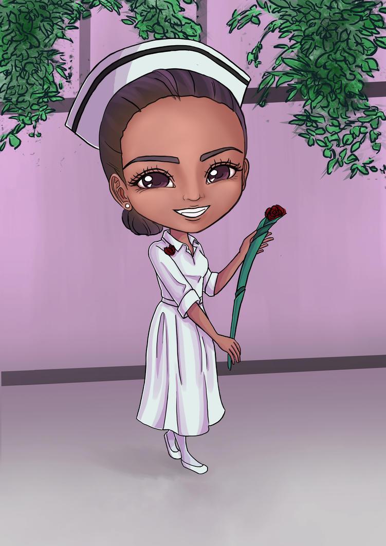 Lynette Nurse Graduation Chibi by choyuki