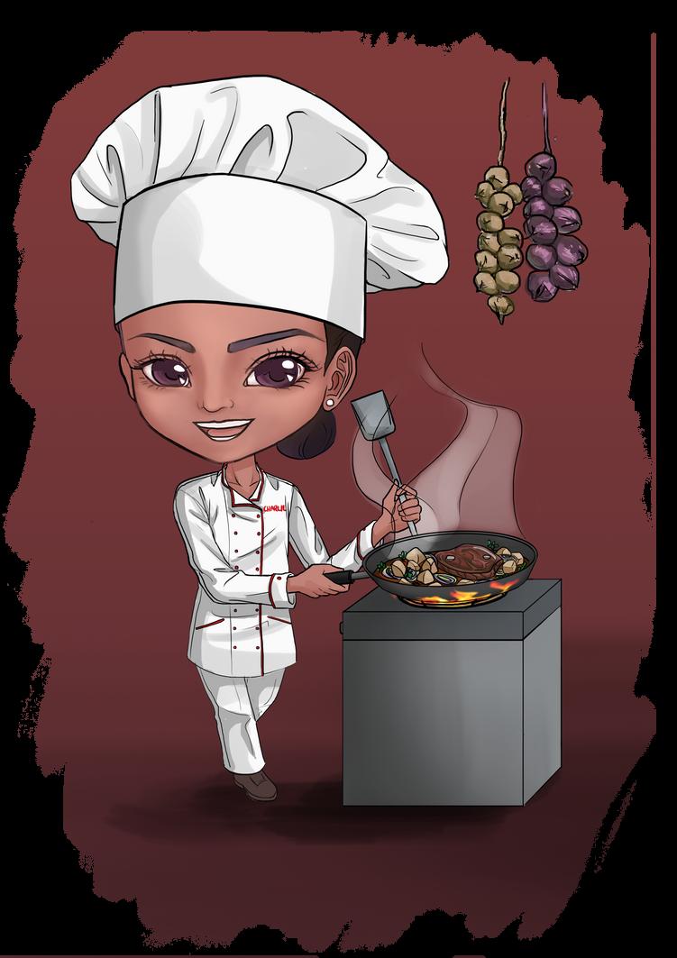 Lynette Chef Chibi by choyuki