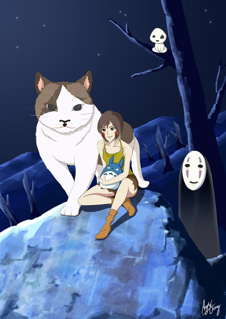 Ghibli inspired - My Favourite Things by choyuki