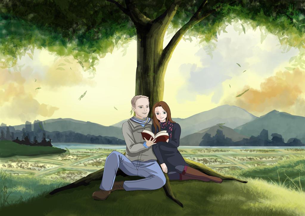 Ghibli inspired - Only Yesterday Commission by choyuki