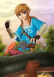 The Legend of Zelda : Breath of the Wild fanart