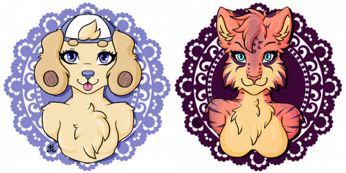 Casey_cat busts by RainbowMassacre90