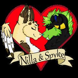 Nilla x Spyke by RainbowMassacre90
