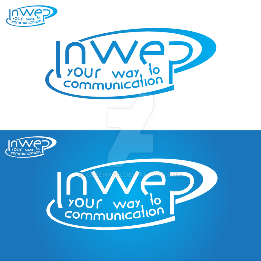Logo Inspired By Intel Logo - Illustrator - Tut by Greenafik