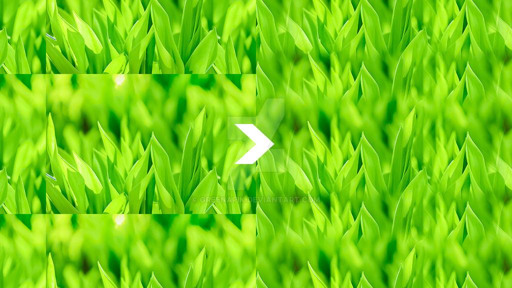 Seamless photographs - Adobe Photoshop - Tutorial by Greenafik