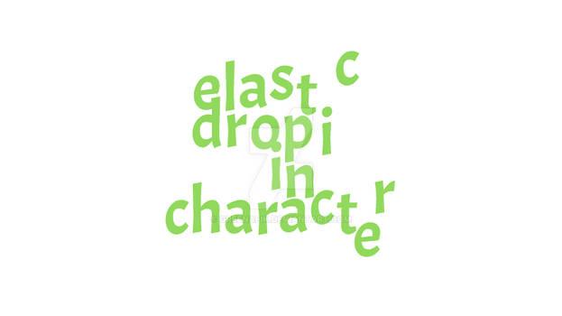 Elastic drop in character  Adobe Edge Animate  Tut