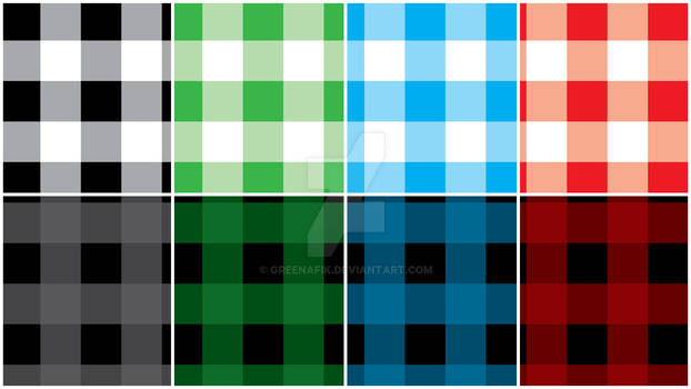 Buffalo Check Pattern - Illustrator Tutorial