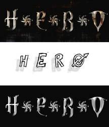 Hero test logos by raeiven