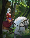 Filavendelle from the Silver Towers (The Witcher)