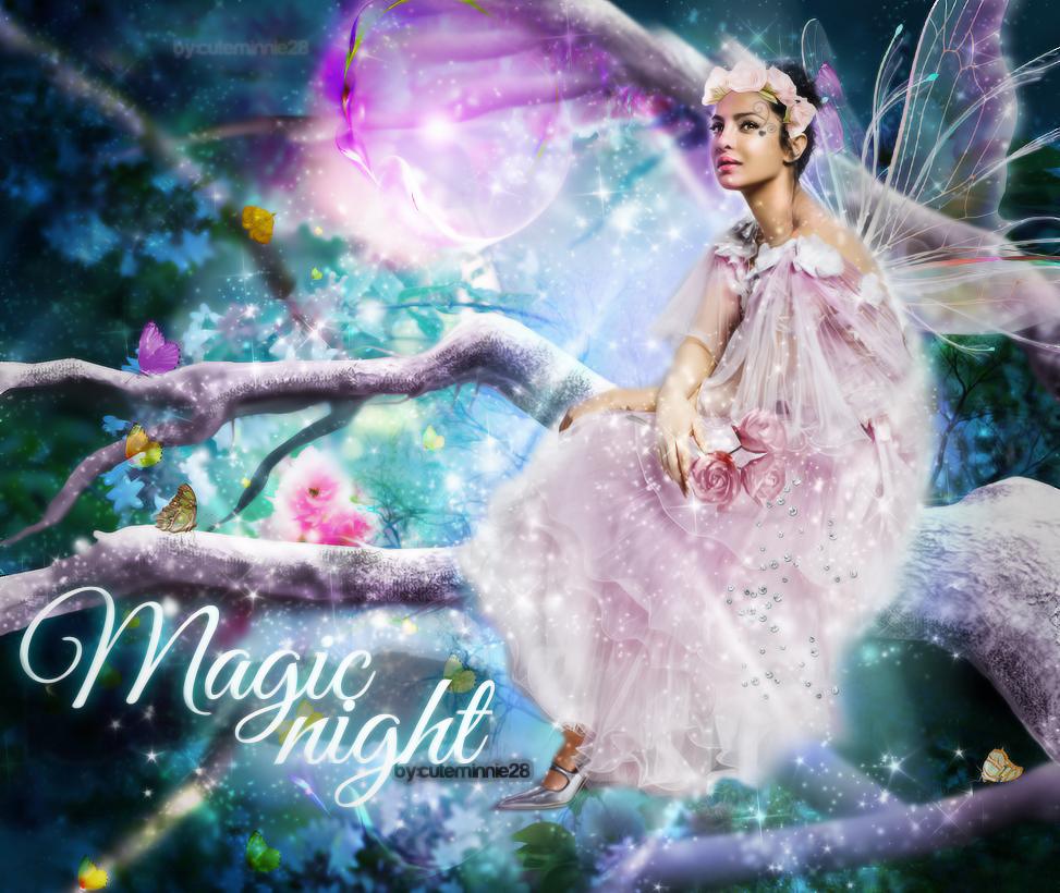 +Magic Night by cuteMinnie28