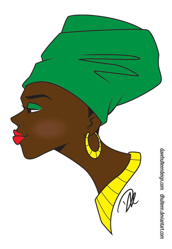 Black is beautiful by dhulteen
