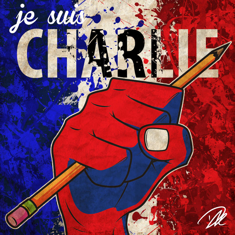 Je suis Charlie by dhulteen
