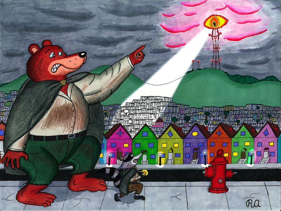 Beware of the Eye of Sutro by WalterRingtail