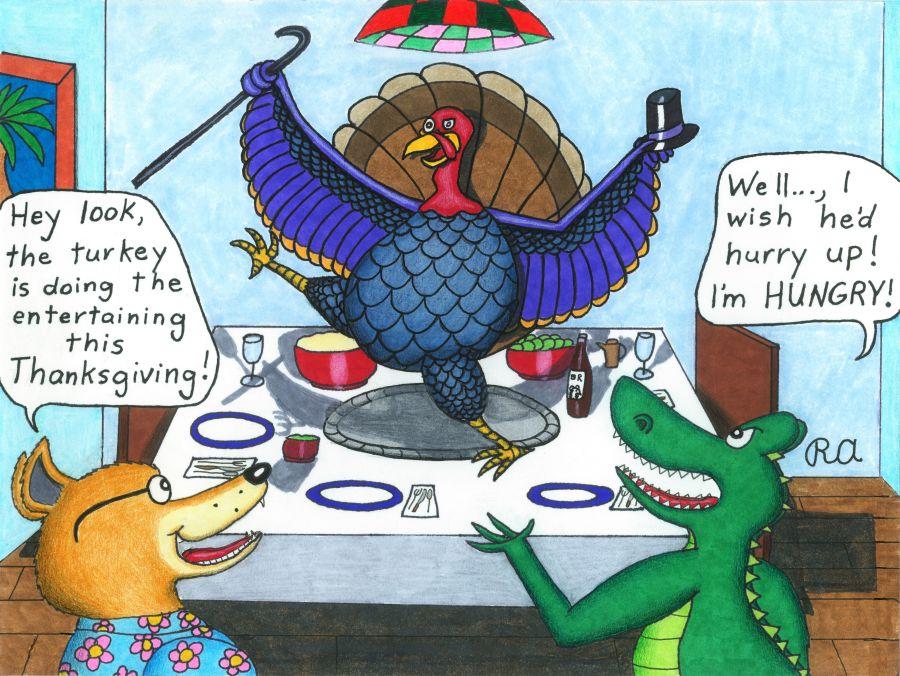 Thanksgiving Turkey Dance by WalterRingtail