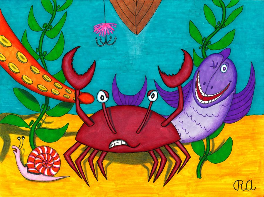 Crabby Disposition by WalterRingtail