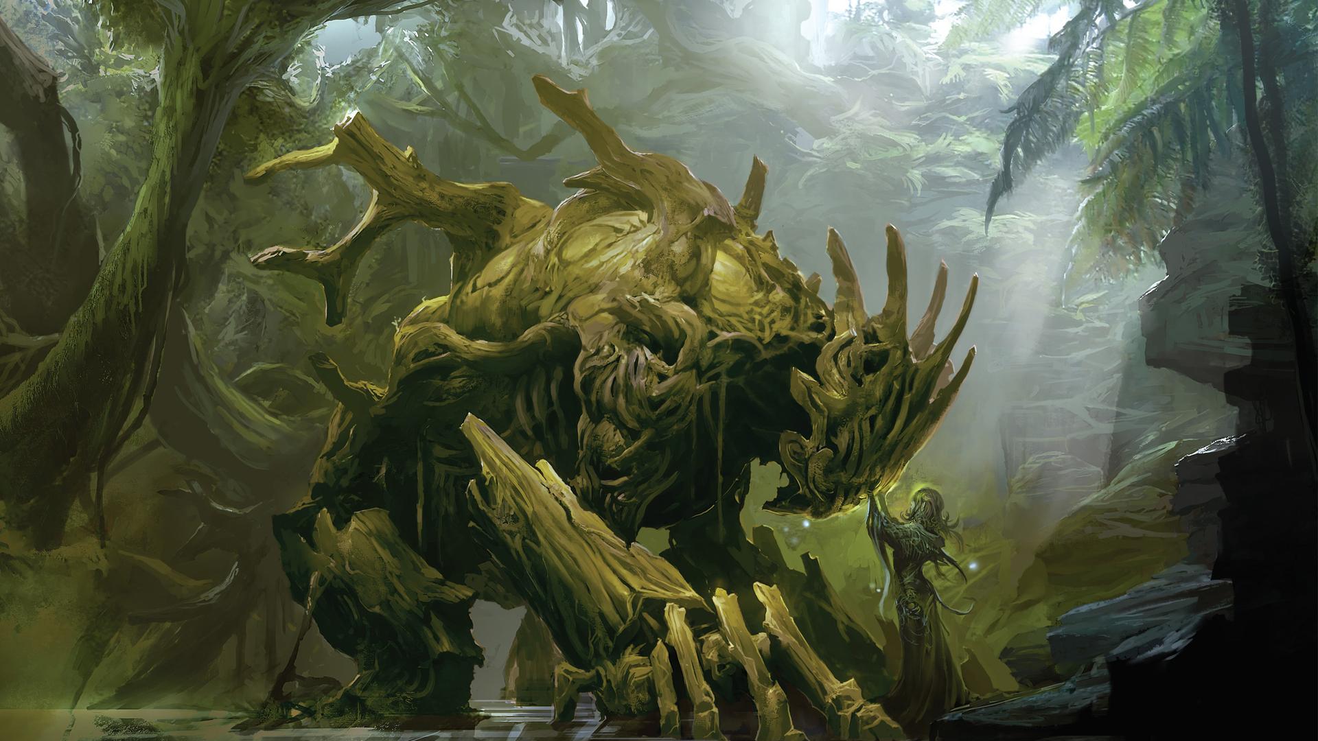 Guild Wars 2 Sylvari by Artfall