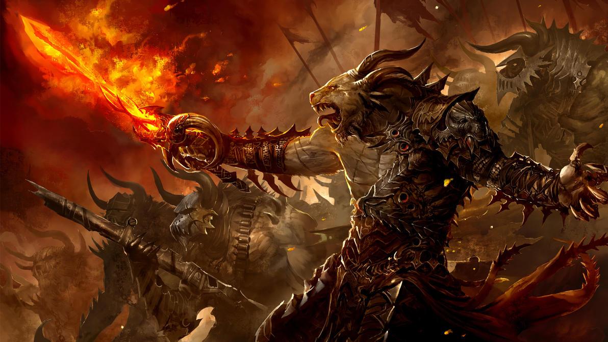 Beautiful Wallpaper Minecraft War - guild_wars_2_charr_by_artfall-d3f3avz  Collection_48316.jpg