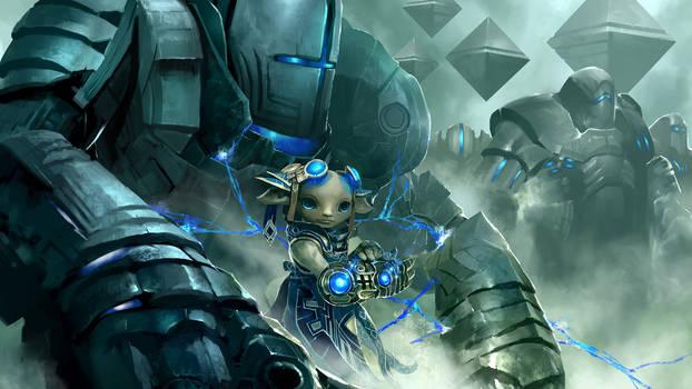 Guild Wars 2 Asura by Artfall
