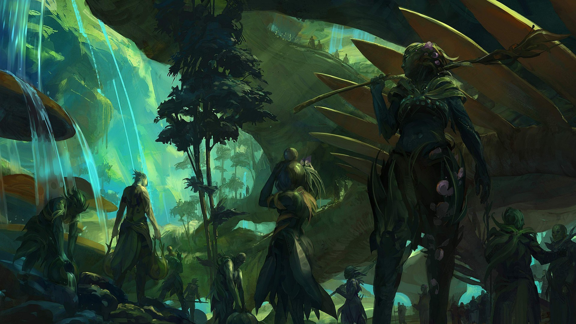 guild wars 2 the grove by artfall d5djzhe