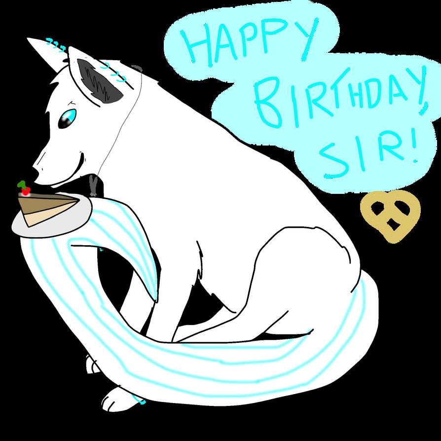 Happy Birthday to my ManPretzel~ by Shattered-Skye