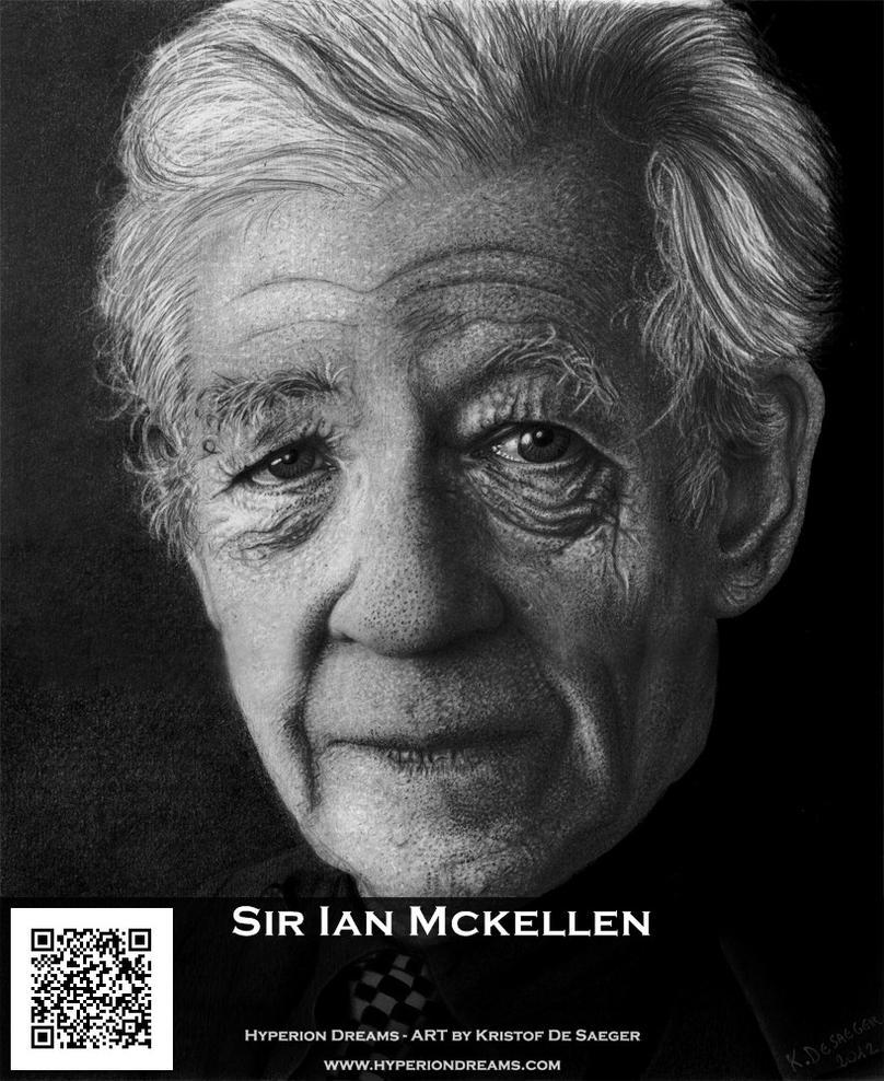 Sir Ian Mckellen by HyperionDreams