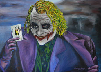 Ledger The Joker 2012 by CameronBentley