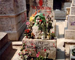 Jim Morrison's grave 1987-8 by CameronBentley