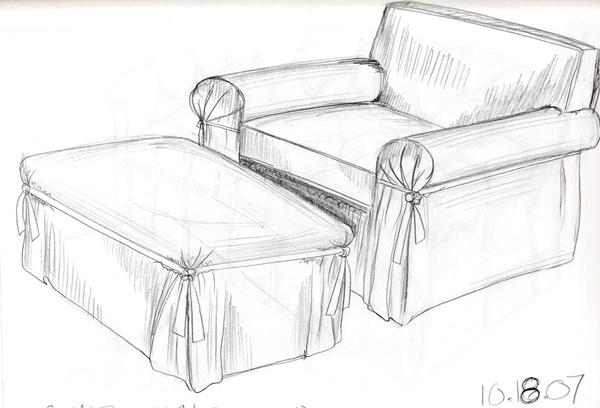 Furniture Sketch 2 By Ryazan ...