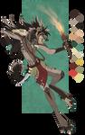 .:CLOSED ADOPT:. Male hyena tribal