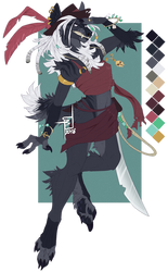 Redesign pirate hyena by Spectrosz