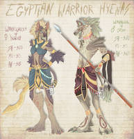 .:Adopts:. Egyptian Warrior Hyenas [CLOSED] by Spectrosz