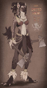 .:Auction:.Tribal Spotted Hyena [CLOSED]