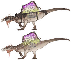 Let's ride a dinosaur by Spectrosz