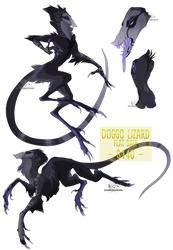 .:Flat sale:. Doggo Lizard  [CLOSED] by Spectrosz