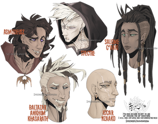 Some headshots of my babies by Spectrosz